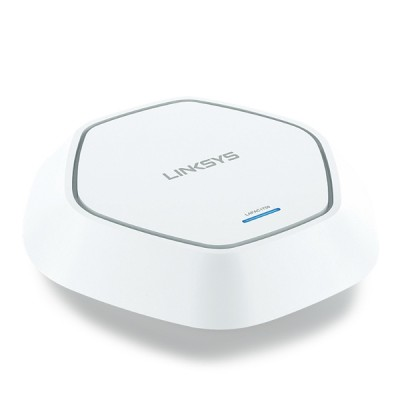 Linksys LAPAC1750 Access Point AC17500 Dual-Band (2.4GHz + 5 GHz), 1-Port Gigabit Ethernet, PoE Support