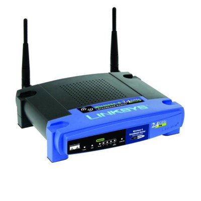 Linksys WRT54GL Wireless Router with Gigabit Ethernet