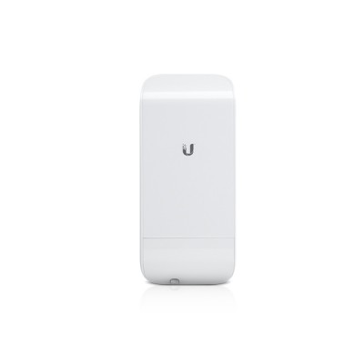Ubiquiti locoM2 (NanoStation locoM2) airMAX Indoor/Outdoor AP, Freq 2.4GHz 150+Mbps, Ant 8.5dBi 2x2 MIMO, Hi-Power 23dBm, 1-Port 10/100 Ethernet