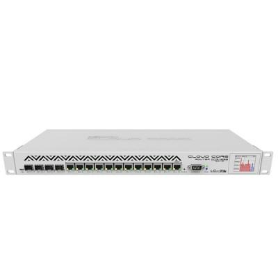 MikroTik CCR1036-12G-4S Cloud Core Router Industrial Grade 12-Port Gigabit Ethernet, 4xSFP cages, CPU 36 core 1.2GHz, RAM 4GB, RouterOS L6