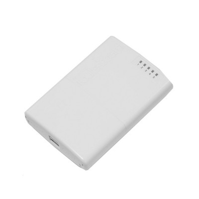 Mikrotik RB750P-PBr2 (PowerBox) Outdoor Router 5-Port 10/100 Eternet with PoE Output, 650MHz CPU, 64MB RAM