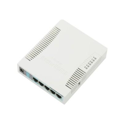 MikroTik RB951G-2HnD Router Wireless 5-Port Gigabit Ethernet, 2.4GHz, CPU 600MHz, RAM 128MB