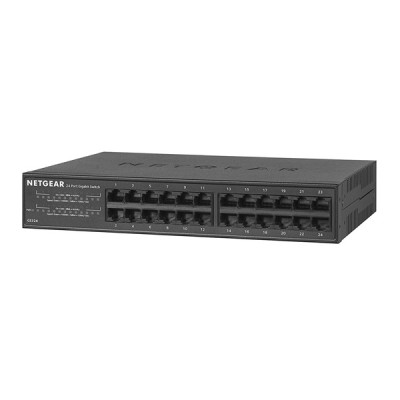 Netgear GS324 24-Port Gigabit Ethernet plug-and-play Desktop/Rackmount Switch