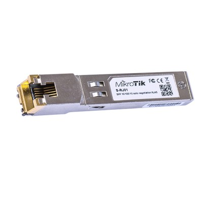 S-RJ01 : 10/100/1000 Mbps RJ45 to SFP Copper Module