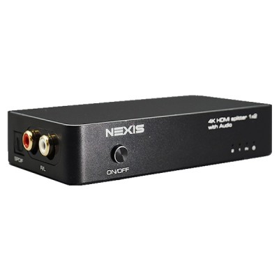 NEXiS SP512A HDMI1.4 1X 2 SPLITTER WITH AUDIO EXTRACTOR