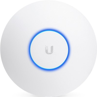Ubiquiti UAP-AC-HD Enterprise AP 4x4MU-MIMO 802.11ac Wave 2 Hi-Speed 2.5Gbps, Dual-Band 2.4&5GHz, 48V/0.5A Gigabit PoE Adapter Included