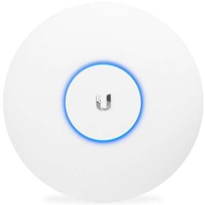 Ubiquiti UAP-AC-PRO Indoor/Outdoor AP Performance 802.11ac, Dual-Band 2.4GHz&5GHz, Antennas 3dBi, Power 22dBm, 48V/0.5A Gigabit PoE Adapter Included