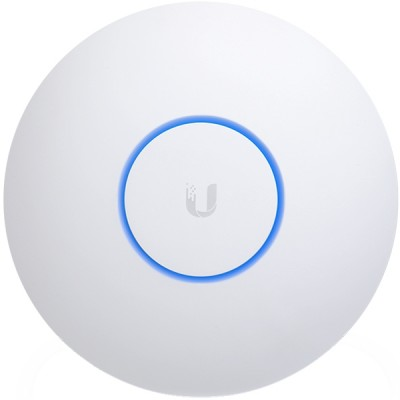 Ubiquiti UAP-AC-SHD Indoor/Outdoor AP 4x4MU-MIMO 802.11ac Wave 2 with Dedicated Security Radio, Hi-Speed 2.5Gbps, Dual-Band 2.4&5GHz, 48V/0.5A Gigabit PoE Adapter Included