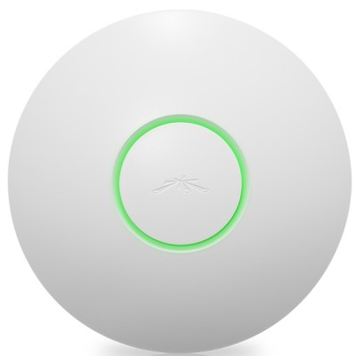 Ubiquiti UAP-LR UniFi AP-Long Range Indoor 802.11n, Freq 2.4GHz 300Mbps, 3dBi Omni Antennas 2x2MIMO, Power 27dBm, 24V/0.5A PoE Adapter Included