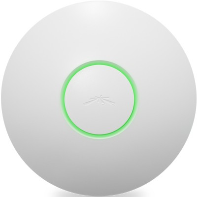 Ubiquiti UAP UniFi Access Point Indoor 802.11n, Freq 2.4GHz 300Mbps, 3dBi Omni Antennas 2x2MIMO, Power 20dBm, 24V/0.5A PoE Adapter Included