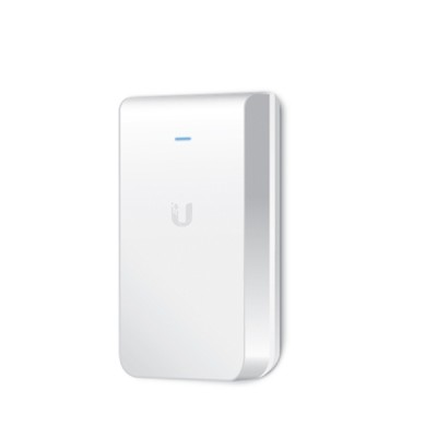 Ubiquiti UAP-AC-IW UniFi AC IN-WALL 802.11ac Speed 1,167Mbps, Dual-Band 2.4GHz&5GHz, Power 20dBm, 802.3at PoE+ Supported
