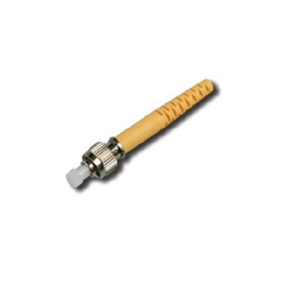 Link UF-0008SM FC Singlemode, Zirconia Fiber Optic Connector, Boot Yellow 0.9 mm, 3.0 mm diameter Cabel