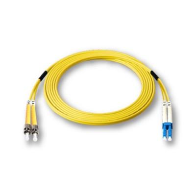 Link UFP942D31-05 Fiber Optic ST-LC Patch Cord OS2, Duplex Single-mode, (3.0 mm Jacket)/UPC-UPC, Lengths 5 m.