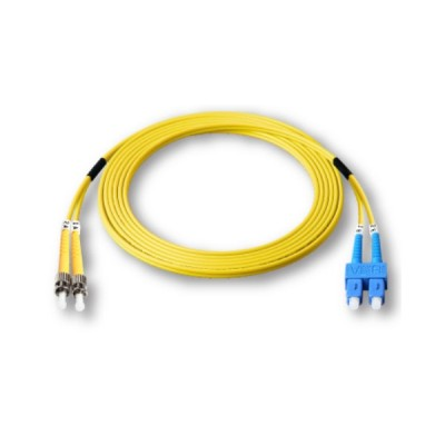 Link UFP946D31-03 Fiber Optic ST-SC Patch Cord OS2, Duplex Single-mode, (3.0 mm Jacket)/UPC-UPC, Lengths 3 m.
