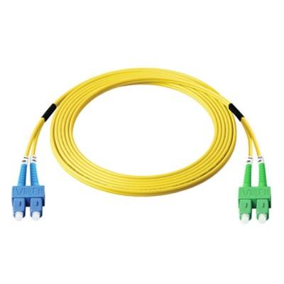 Link UFP966D36-05 Fiber Optic SC-SC Patch Cord OS2, Duplex Single-mode, (3.0 mm Jacket)/UPC-APC, Lengths 5 m.