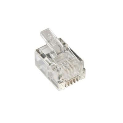 Link UL-3011 RJ11 Telephone PLUG (ตัวผู้โทรศัพท์ 4 ขา) บรรจุ 10 ตัว/ ถุง