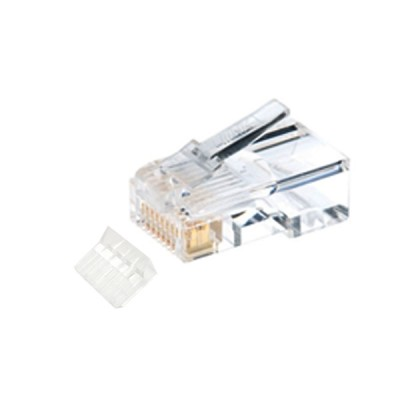 LINK US-1002 CAT 6 RJ45 Plug Unshield, 2 Layer with pre-insert bar (10 Each/Pkg)