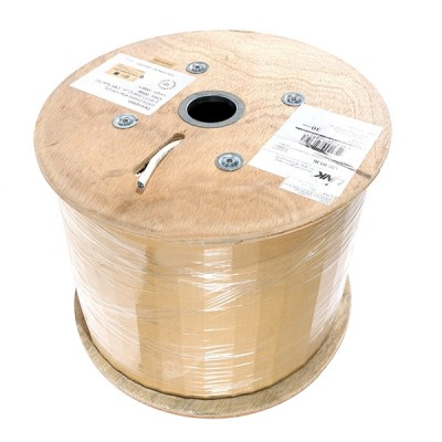 LINK US-9146 CAT6A UTP XG Cable, Bandwidth 750MHz, CMR, White Color 305 M./Roll Box *ส่งฟรีเขต กทม.