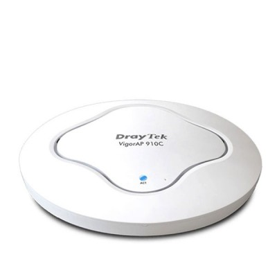DrayTek VigorAP 910C : Access Point 802.11ac, Ceiling-mount, Support PoE, Multimode AP/WDS-bridgge & repeater/Universal Repeater