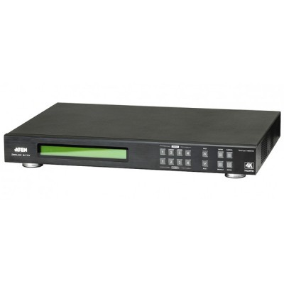 ATEN VM6404H 4X4 4K HDMI MATRIX SWITCH VIDEO WALL SUPPORT WITH SCALER