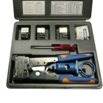 Amp AM-3028 (Commscope 1-231666-0) HAND TOOL, w/Die RJ45, RJ11