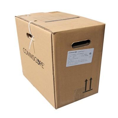 COMMSCOPE CB-0007CM CAT 6 Indoor UTP Cable 24 AWG, Bandwidth 250MHz, CM Blue Color 305 M./Pull Box *ส่งฟรีเขต กทม.