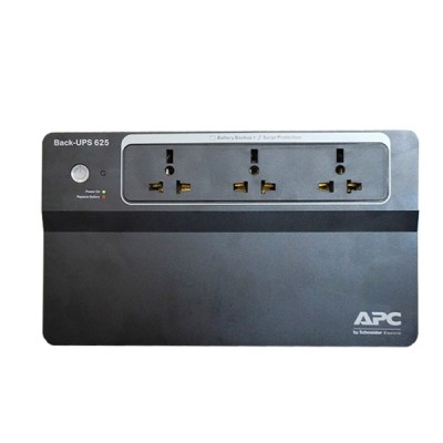 APC BX625CI-MS UPS 625VA / 325Watts, 3-Outlets Asia universal, Surge protects your electronic equipment