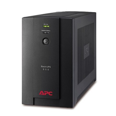 APC BX950U-MS Back-UPS 950VA, 480 Watts 230V, AVR Universal and IEC Sockets