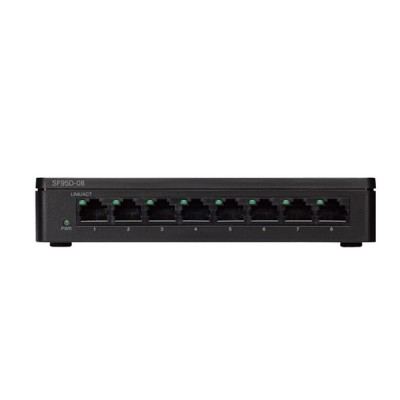 Cisco SF95D-08 Switch 8-Port 10/100 Mbps Unmanaged Desktop Switch