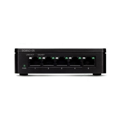 Cisco SG95D-05 Switch 5-Port Gigabit Unmanaged Desktop