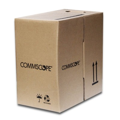 COMMSCOPE CB-0006 CAT 5E Indoor UTP Cable 24 AWG, Bandwidth 350MHz, CMR White Color 305 M./Pull Box *ส่งฟรีเขต กทม.