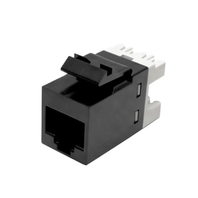 COMMSCOPE (AMP) AM-3501-02 (9-1375191-2) Modular Jack, RJ45, Category 5e, Unshielded, Without dust cove, for patch panel ,24PCS /PKG