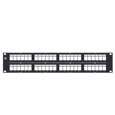 COMMSCOPE (AMP) AM-3048 Patch Panel 48 (2) Unload for CAT 5E & CAT 6
