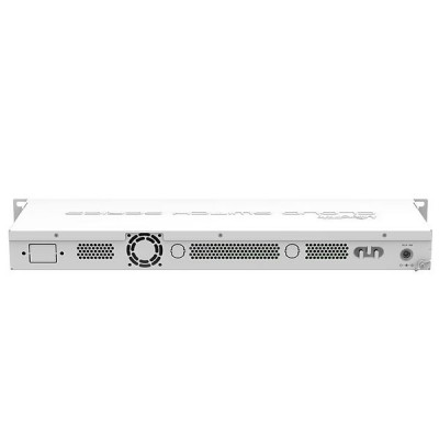 MikroTik CSS326-24G-2S+RM SwOS powered 24 Port Gigabit Ethernet Switch with 2 SFP+ (10 Gbps) Ports in 1U Rackmount Case