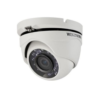 HIKVISION DS-2CE56C0T-IRMF Analog Outdoor/Indoor Turret Camera HD720P, Day/Night 20m IR, IP66 weatherproof