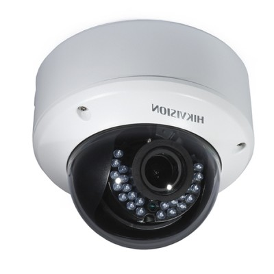 HIKVISION DS-2CE56D0T-VPIR3F Analog Dome Camera HD 1080P, Day/Night 40m IR, IP66 Weatherproof