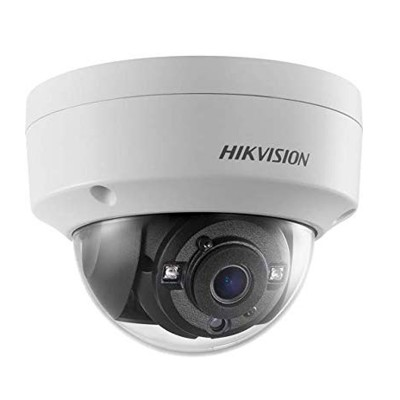 HIKVISION DS-2CE56H0T-VPITF Analog 5MP Dome Camera HD, Day/Night 20m IR, IP67 Weatherproof