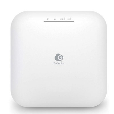 EnGenius ECW220 Cloud Managed 11ax (WiFi 6) Indoor Access Point, 1.774Gbps Dual-Band, Gigabit LAN Support PoE