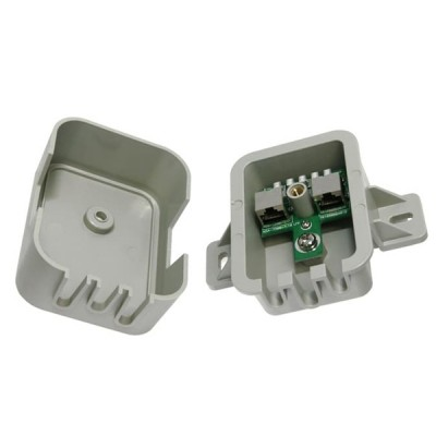 EnGenius ESA-7500 Surge and Lightning Protection Networks, 10/100 Base-T, RJ-45 x2 Compatible