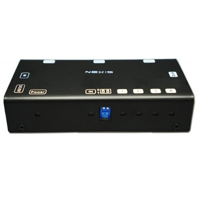 NEXiS FH-SP104E 4 PORT HDMI SPLITTER WITH 4K SUPPORT