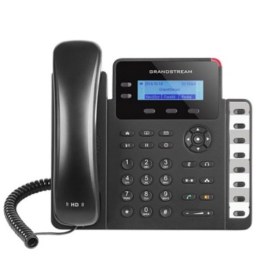 Grandstream GXP1628 Small/Medium Business IP Phone, SIP Enterprise 2 line with 2 SIP accouunt HD Voice, PoE & Gigabit Port