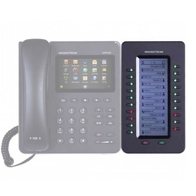 Grandstream GXP2200EXT Extension module SIP Multimedia Phone call control and flexibility to any user, 128x384 backlit LCD display