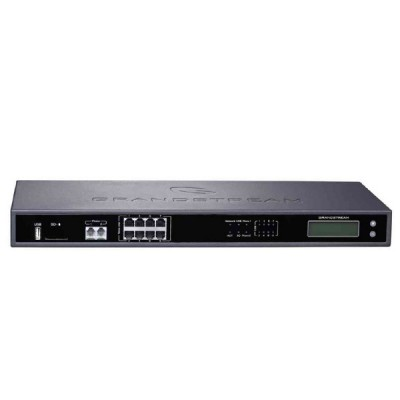 Grandstream UCM6208 IP PBX with 8FXO+2FXS, 1-Port Gigabit LAN, 100 Concurrent call and 6 Conference bridge 32 IP Participates