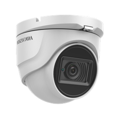 HIKVISION DS-2CE76H8T-ITMF Analog 5MP High Performance Turrent Camera, Day/Night 30m IR, Outdoor IP67 weatherproof