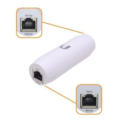 Ubiquiti INS-3AF-I-G Instant 802.3af  Indoor and Outdoor PoE Converters Transform Passive PoE Devices into 802.3af