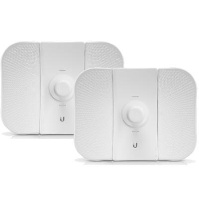 Ubiquiti LBE-5AC-23-SET Point-to-point WiFi Link 1-3Km. airMAX Management 802.11ac, Freq 5GHz Hi-Speed 450+Mbps, Power 24dBm, Ant 23dBi 2x2MIMO, Configuration ready