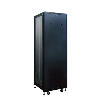 """Link CH-60642GS 19"""" Glass Rack 42U (60x60x207cm.) Black *ส่งฟรีเขต กทม.และปริมณฑล"""