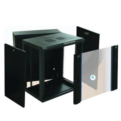 "LINK CW2-60512G 19"" Glass Wall Rack 12U (60x50x64cm) *ส่งฟรีเขต กทม."