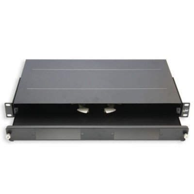 Link UF-2010A Fiber Optic Distribution Unit (FDU) 6-24F (2 Snap-In) Rack Mount Slide, 1U Depth 25 cm. Unload