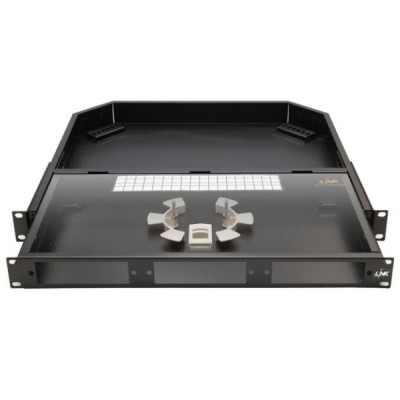 Link UF-2013A Fiber Optic Distribution Unit (FDU) 6-36F (3 Snap-In) Rack Mount Drawer (1U), Unload